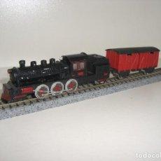 Trenes Escala: ESTATICAS LOCOMOTORA Y VAGÓN (CON COMPRA 5 LOTES O MAS ENVÍO GRATIS). Lote 68046441