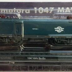 Trenes Escala: LOCOMOTORA 1047 MAV BO-BO - EDICIONES ALTAYA. Lote 71588067