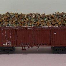 Trenes Escala: TRIX N - VAGÓN ABIERTO CON CARGA DE MINERALES. Lote 71712923