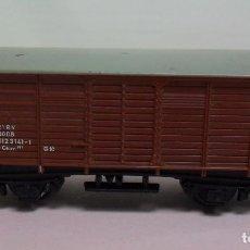 Trenes Escala: TRIX N - VAGÓN CERRADO DE MERCANCÍAS. Lote 115872387