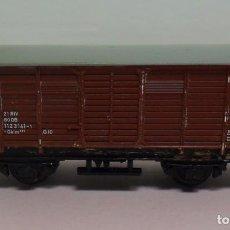 Trenes Escala: TRIX N - VAGÓN CERRADO DE MERCANCÍAS. Lote 115872552