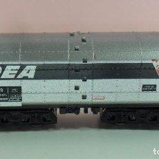 Trenes Escala: MINITRIX N - VAGÓN PARA TRANSPORTE DE DEA OIL COMPANY. Lote 75116783