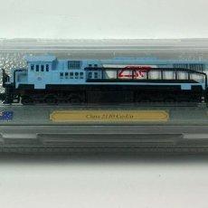 Trenes Escala: TREN LOCOMOTORA ESTATICA ESCALA N - EDICIONES DEL PRADO - LOCOMOTORA CLASS 2130 CO CO (AUSTRALIA). Lote 75790791