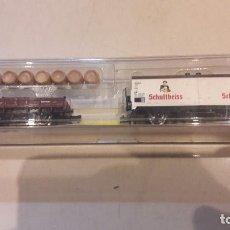 Trenes Escala: VAGONES N MINITRIX NUEVOS. Lote 76575787