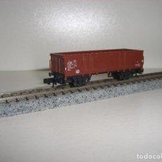 Trenes Escala: TRIX N VAGON BORDE MEDIO (CON COMPRA DE 5 LOTES O MAS ENVÍO GRATIS). Lote 78605701