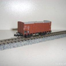 Trenes Escala: TRIX N VAGON BORDE ALTO (CON COMPRA DE 5 LOTES O MAS ENVÍO GRATIS). Lote 78605849