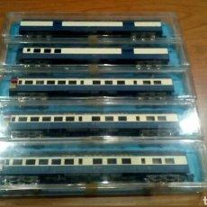 Trenes Escala: 5 VAGONES DE PASAJEROS ESCALA N. Lote 79144525