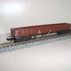 Trenes Escala: TRIX N BORDE MEDIO 4 EJES (CON COMPRA DE 5 LOTES O MAS ENVÍO GRATIS). Lote 79783701