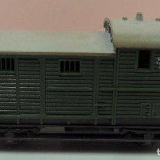 Trenes Escala: TRIX N - VAGÓN CERRADO DE MERCANCÍAS. Lote 82276800