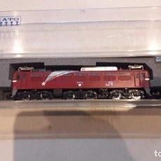 Trenes Escala: LOCOMOTORA N KATO EF 81. Lote 84228896