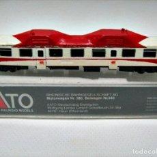 Trenes Escala: ARTESANAL. AUTOMOTOR SERIE 596. MOTORIZACIÓN KATO. ESCALA N. Lote 84541604
