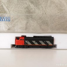 Trenes Escala: LOCOMOTORA KATO EMD F7 CANADIAN NATIONAL . Lote 86423524