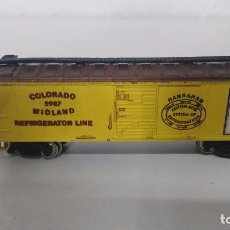 Trenes Escala: ANTIGUO VAGON BACHMAN COLORADO. Lote 113585282