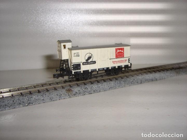 MINITRIX N CERRADO CON GARITA (CON COMPRA DE 5 LOTES O MAS ENVÍO GRATIS) (Juguetes - Trenes Escala N - Otros Trenes Escala N)
