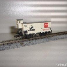 Trenes Escala: MINITRIX N CERRADO CON GARITA (CON COMPRA DE 5 LOTES O MAS ENVÍO GRATIS). Lote 88913044