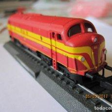 Trenes Escala: TREN LOCOMOTORA MAQUETA ESTATICA 1601 CFL. Lote 89717288