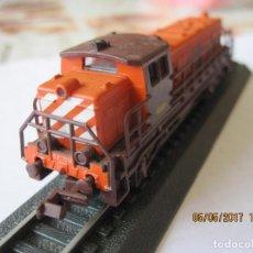 Trenes Escala: TREN LOCOMOTORA MAQUETA ESTATICA CP 1201. Lote 89718012