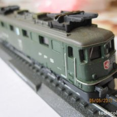 Trenes Escala: TREN LOCOMOTORA MAQUETA ESTATICA SBB 11428 FFS. Lote 89718864
