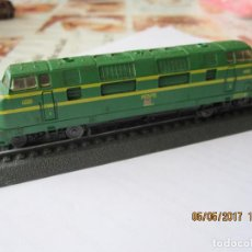 Trenes Escala: TREN LOCOMOTORA MAQUETA ESTATICA ME H561. Lote 89719316