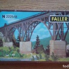 Trenes Escala: FALLER N 222548. PILARES DE PUENTE PARA MAQUETA DE TREN ESCALA N. PRECINTADO. Lote 91595668