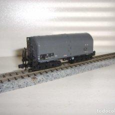 Trenes Escala: MINITRIX N CISTERNA GRIS (CON COMPRA DE 5 LOTES O MAS ENVÍO GRATIS). Lote 90998245