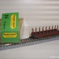 Trenes Escala: MINITRIX N TELERO REF 3235 (CON COMPRA DE 5 LOTES O MAS ENVÍO GRATIS). Lote 90999060
