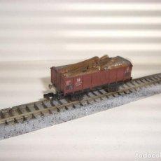 Trenes Escala: PIKO N BORDE MEDIO CON CARGA (CON COMPRA DE 5 LOTES O MAS ENVÍO GRATIS). Lote 92448990