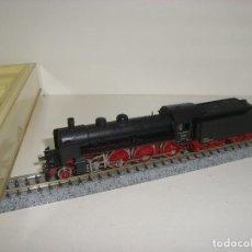 Trenes Escala: MINITRIX N LOCOMOTORA VAPOR BR 17212 REF 2077 (CON COMPRA DE 5 LOTES O MAS ENVÍO GRATIS). Lote 92450515