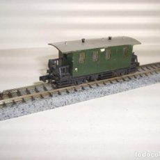 Trenes Escala: MINITRIX N PASAJEROS CLASICO (CON COMPRA DE 5 LOTES O MAS ENVÍO GRATIS). Lote 92844600