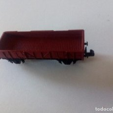 Trenes Escala: VAGÓN DE CARGA BAJA 2 EJES IBERTREN ESCALA N (NUEVO). Lote 95215055