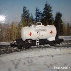 Trenes Escala: COMPOSICIÓN MILITAR CRUZ ROJA. Lote 95401131