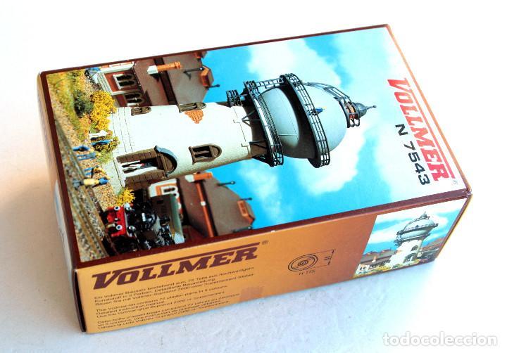 Trenes Escala: VOLLMER N 7543 • TORRE ALJIBE - Watertoren • Escala N (Mod. ferroviario 17 x 9 cm) - Foto 2 - 96623663