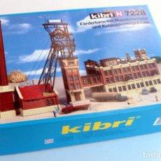 Trenes Escala: KIBRI N 7228 • FACTORÍA PROCESO MINERÍA CARBÓN • ESCALA N (MOD. FERROVIARIO 32 X 12 X 22 CM). Lote 96624567