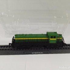 Trenes Escala: LOCOMOTORA ESTATICA 307 BO-BO RENFE ESCALA N 1:160. Lote 97767987