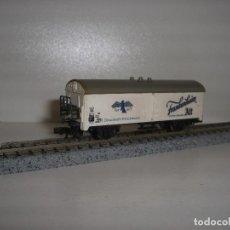 Trenes Escala: MINITRAIN N VAGON FRIGORIFICO (CON COMPRA DE 5 LOTES O MAS ENVÍO GRATIS). Lote 98385319