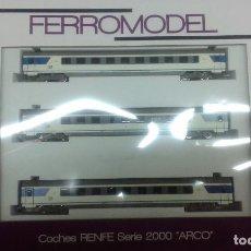 Comboios Escala: SET TRES COCHES ARCO FERROMODEL. Lote 98567779