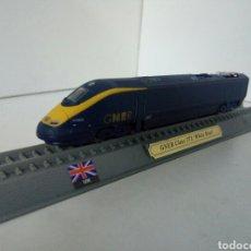 Trenes Escala: LOCOMOTORA ESTATICA DE UK GNER CLASS 373 WHITE ROSE. Lote 98569538