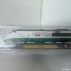Trenes Escala: LOCOMOTORA ALTA VELOCIDAD ESTATICA ITALIANA ETR 500. Lote 99079583