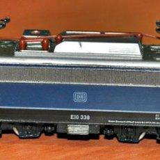 Trenes Escala: LOCOMOTORA ELÉCTRICA E10 338 DE LA DB DE TRIX, REF. 2930, ESCALA N. Lote 116897634