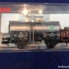 Trenes Escala: VAGON CISTERNA TREN FLEISCHMANN MARCA ALEMANA MODELO 8426 K. Lote 103024519