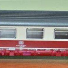 Trenes Escala: COCHE DE VIAJEROS LARGO 1ª CLASE DE LA DB, ÉPOCA IV, DE MINITRIX, ESCALA N. VÁLIDO IBERTREN.. Lote 109041983
