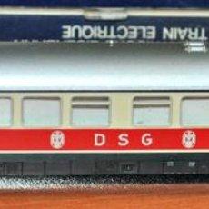 Trenes Escala: COCHE RESTAURANTE DE LA DSG DE MINITRIX, EN ESCALA N, VÁLIDO IBERTREN.. Lote 109045519