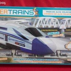 Trenes Escala: TREN DE ALTA VELOCIDAD POWER TRANS (FAMOSA-DESCATALOGADO). Lote 104015075