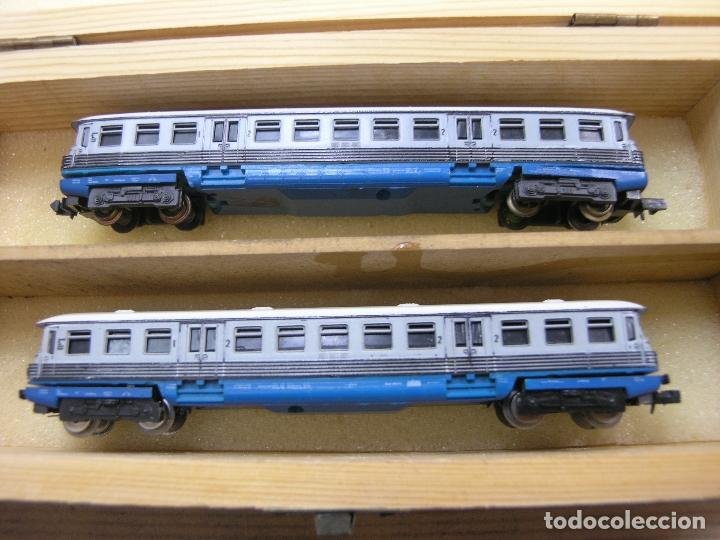 ANTIGUO TREN AUTOMOTOR PIKO CONTINUA N (Juguetes - Trenes Escala N - Otros Trenes Escala N)
