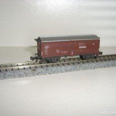 Trenes Escala: MINITRIX N VAGÓN MERCANCIAS (CON COMPRA DE 5 LOTES O MAS ENVÍO GRATIS). Lote 111708195