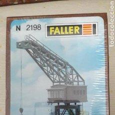 Trenes Escala: FALLER ESCALA N 2198 GRÚA PÓRTICO. Lote 112947534