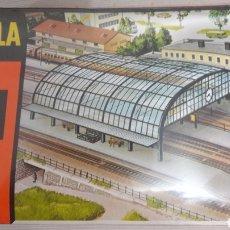 Trenes Escala: POLA ESCALA N B 206 ESTACIÓN TRENES. Lote 113033154