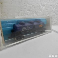 Trenes Escala: VAGÓN CISTERNA ESCALA N DE ATLAS . Lote 113276003