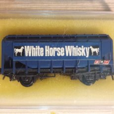 Trenes Escala: VAGÓN WHISKY WHITE HORSE PECO N. Lote 114485174