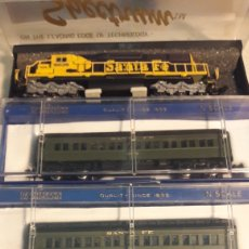 Trenes Escala: COMPOSICIÓN SANTA FE BACHMANN SPECTRUM N. Lote 114490819